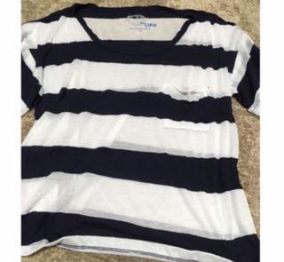 ボーダー Tシャツ インポート  海外セレブ愛用