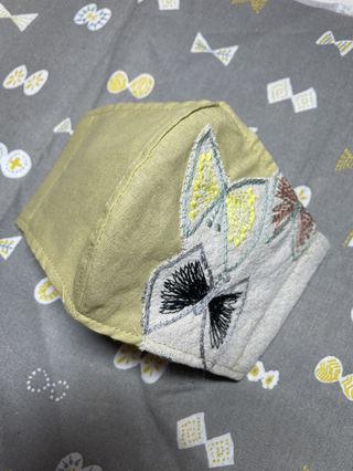 ミナペルホネン刺繍インナーマスク
