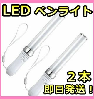 LED ペンライト 2本組15色カラーチェンジ新品送料無料