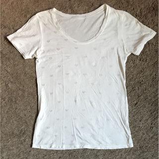 Heaher白Tシャツ