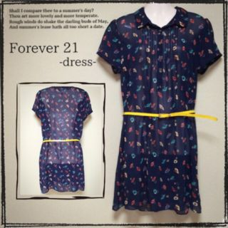 【Forever21】清楚系ワンピース
