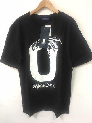 【UNDERCOVER】Tシャツ 黒 M Medium