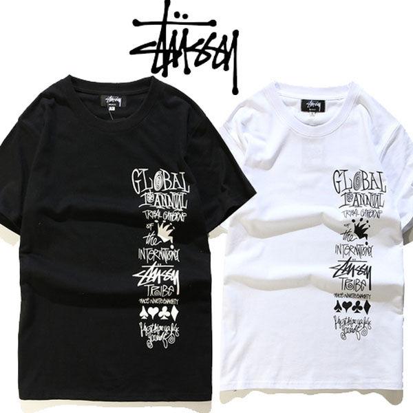 人気美品 ステューシーTシャツ 男女(STUSSY(ステューシー) ) - フリマアプリ&サイトShoppies[ショッピーズ]