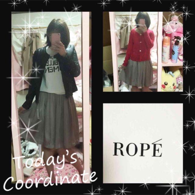 値引きしました!ROPE春服スカート(ROPE(ロペ) ) - フリマアプリ&サイトShoppies[ショッピーズ]