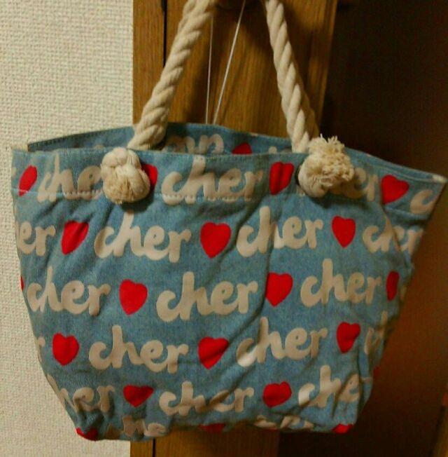 値下げcher トートバック(Cher(シェル) ) - フリマアプリ&サイトShoppies[ショッピーズ]