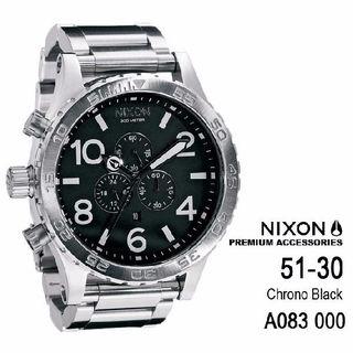 ニクソン 51-30 腕時計 A083-000?