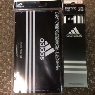 新品adidas色鉛筆&鉛筆