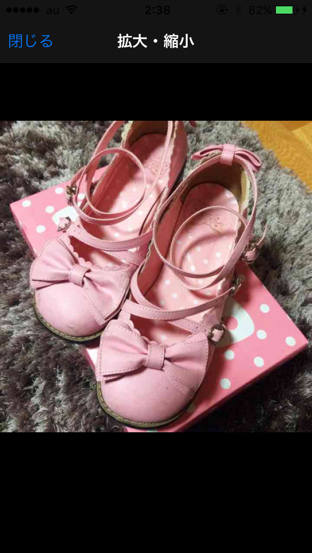 Angelic Pretty Tea Party Shoes(Angelic Pretty(アンジェリックプリティー) ) - フリマアプリ&サイトShoppies[ショッピーズ]