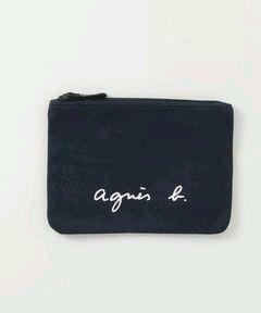 【期間限定価格】agnes b.◆ロゴポーチ