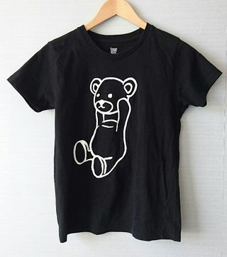 グラニフ バックプリント付きコントロールベアーTシャツ