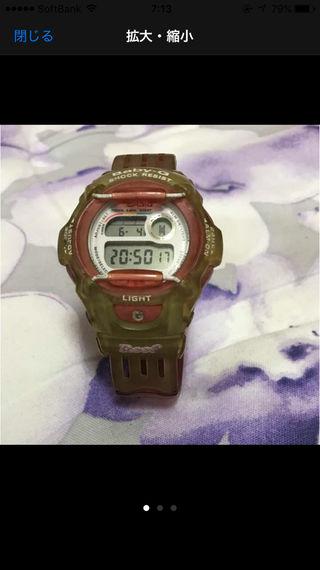 G-SHOCKベビージー腕時計used