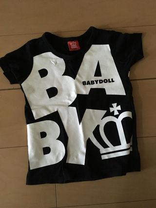 BABYDOLL ロゴTシャツ