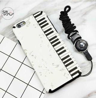 おしゃれカワイイ鍵盤デザイン iPhone6/6sケース