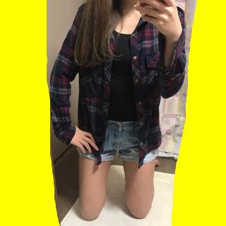 春服FOREVER21カジュアルチェックシャツ