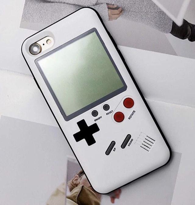 iPhoneケース ゲーム風 3色