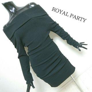 ROYAL PARTY*ニットワンピース