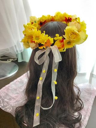 春爛漫花冠