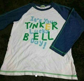 ティンカーベル長袖Tシャツ