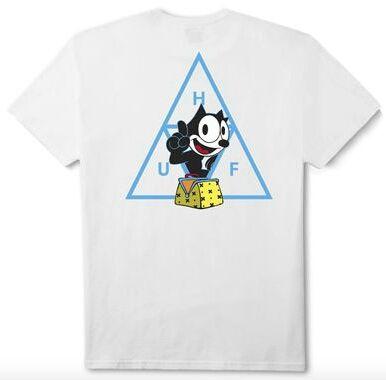 Huf フィリックス Tシャツ ホワイト  M ハフ(HUF(ハフ) ) - フリマアプリ&サイトShoppies[ショッピーズ]