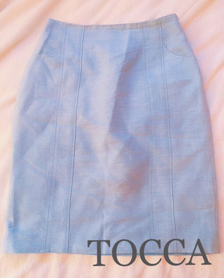 TOCCAトッカ【新品同様】シルクタイトスカート