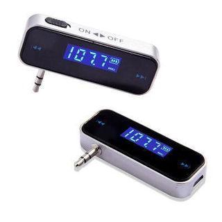 FMトランスミッター USB充電式 3.5φミニプラグ