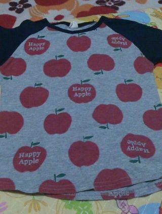 アップルTシャツ