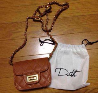Dith ポシェット ショルダーバッグ