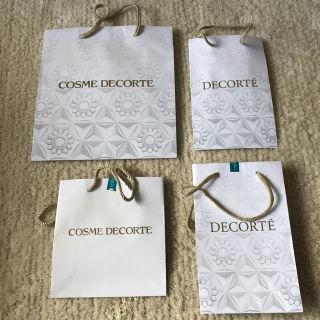COSME DECORTE ショップ袋4枚