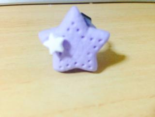 星型クッキー リング