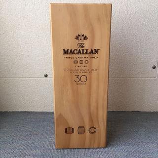 マッカラン30年 木箱