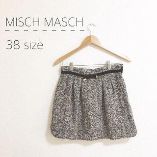 MISCH MASCH ツイードスカート
