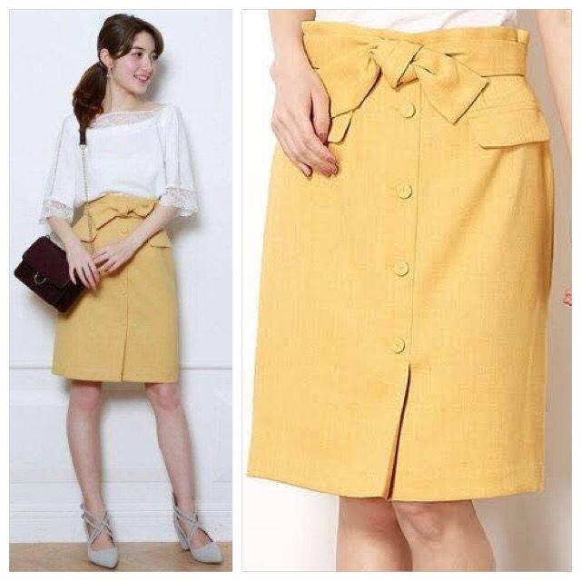堀田茜定価15,120円リネンライクタイトスカート