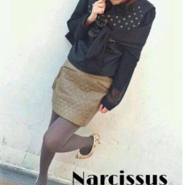 NarcissusAn'geレザースカート