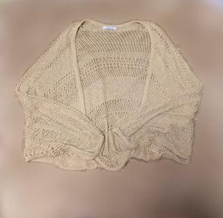 かぎ編みボレロ
