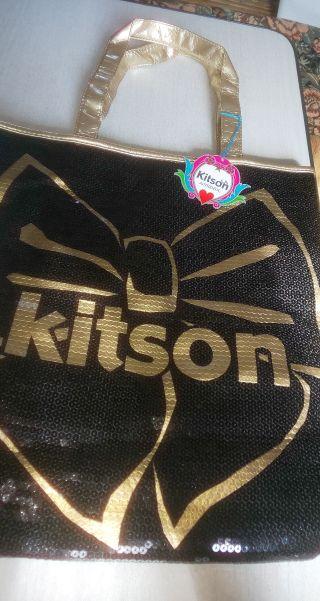 kitsonデカトートバッグ