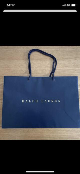 RALPH LAURENショップ袋(紙袋)