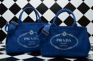 プラダ トートバッグ肩紐つき   大人気美品   国内発送