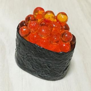 食品サンプル(マグネット)お寿司(イクラ/いくら軍艦)1