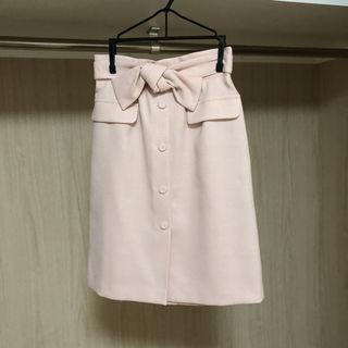 リランドチュール リボンスカート