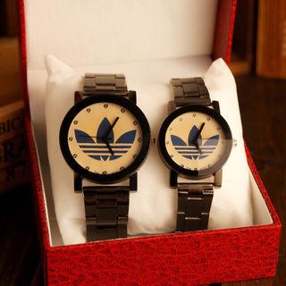 アディダス腕時計 2点カップルセット