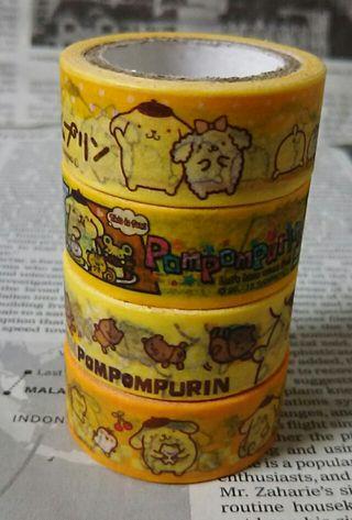 ポムポムプリン*マスキングテープ