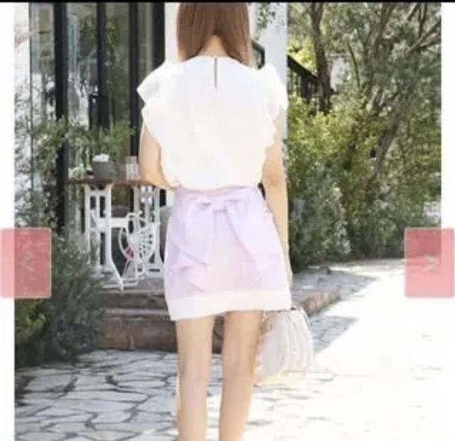 ミシェルマカロンリボンスカート