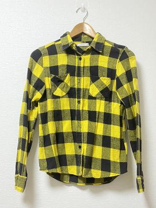ブロックチェック ネルシャツ