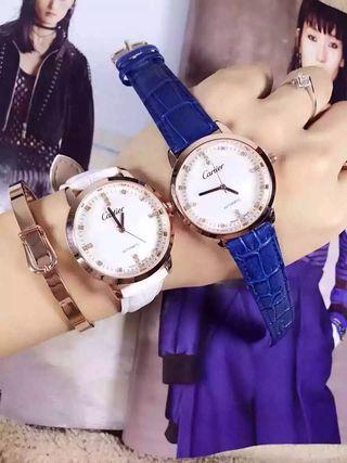 シンプルでも人気 素敵な腕時計 6色有り