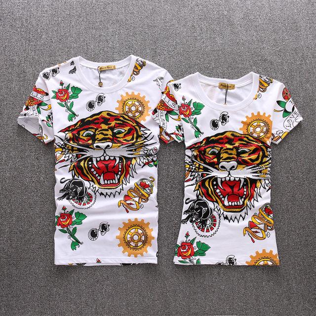 Edhardy Tシャツ 刺繍 メンズ レディース(Ed Hardy(エド・ハーディー) ) - フリマアプリ&サイトShoppies[ショッピーズ]