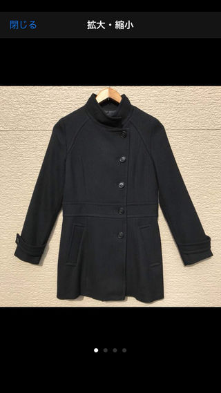 BALLSEY コート 黒 ブラック 38