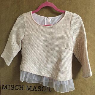 MISCH MASCH*裾レース七分袖トップス
