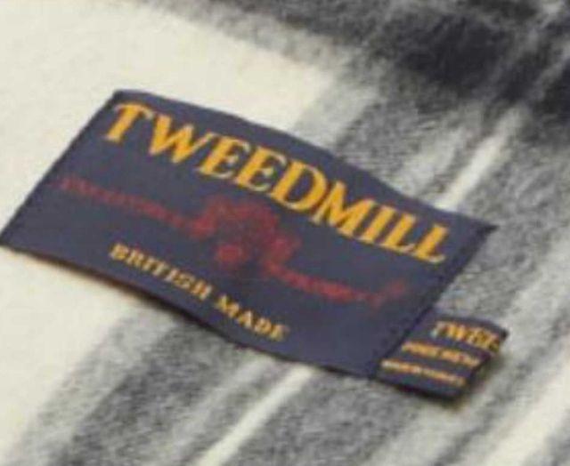 ツイードミル ブランケット TWEEDMILL 70X183