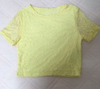 WEGOお花レースTシャツ