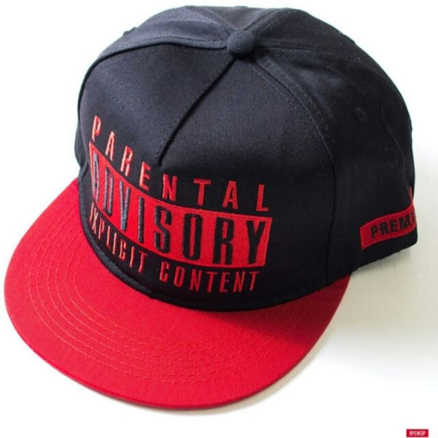 PARENTAL ADVISORY baseballキャップ